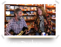 Con Durham at Dingle Record Shop
