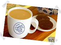 A Free On-line Cup of Tea at Dingle Record Shop
