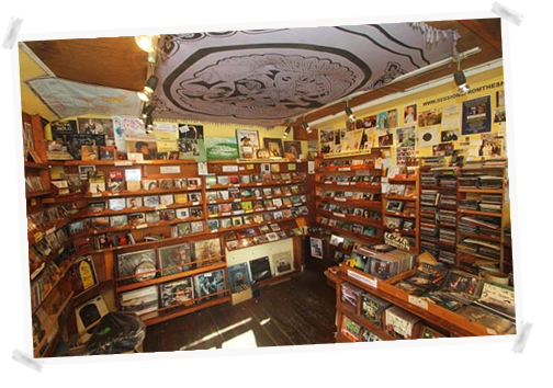 Dingle Record Shop Inside